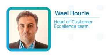 WAEL HEAT OF CUSTOMER SUPPORT AT LOCATION SOLUTIONS