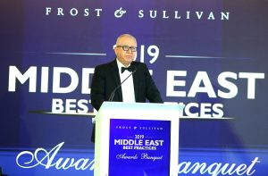 Location Solution receives frost and sullivan award in 2019